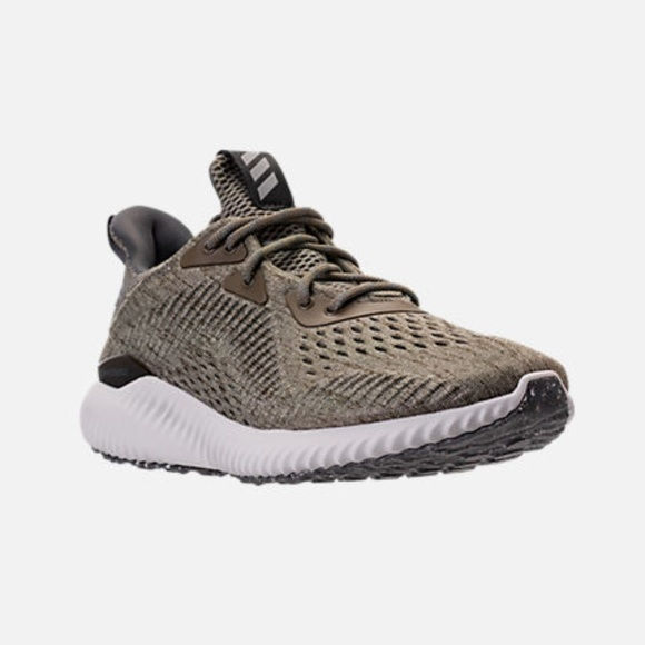 sports shoes 93f78 e1d5c Women's Adidas AlphaBounce Em Shoes Olive Green